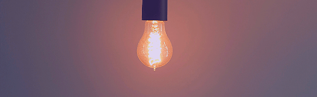 ブログをはじめたきっかけの電球