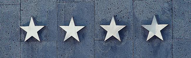 ネタを評価する星マーク