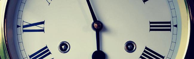 入金のタイミングを調べるための時計