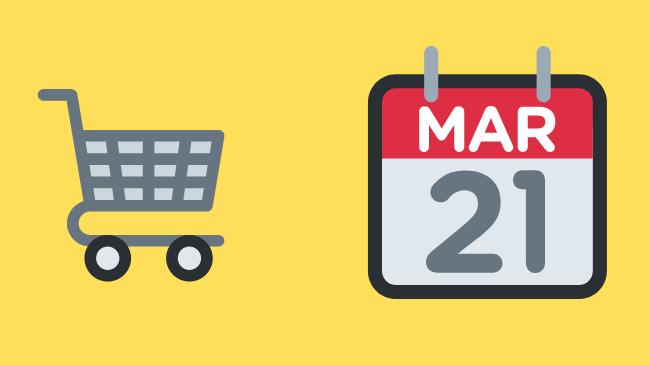 買い物とスケジュールアプリ
