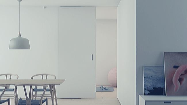 綺麗に片付けられた室内