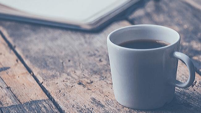 寝る前にカフェイン(コーヒー)を取っておくのがおすすめ