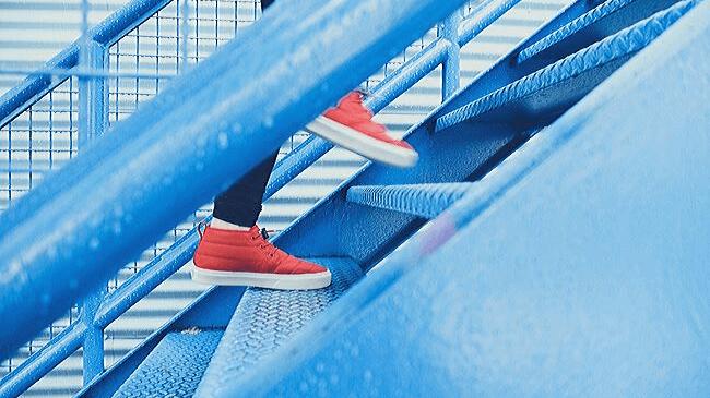 階段を登るように1つ1つのやること進める人