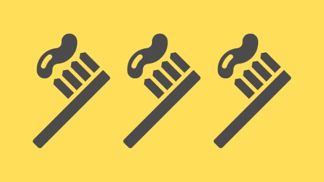毛先が広がってしまうと使い物にならない歯ブラシ