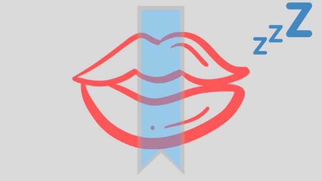 寝ている時に口呼吸を防止するためのテープ