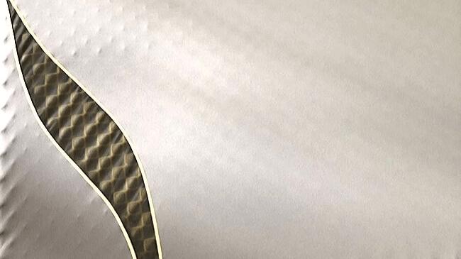 西川エアーのマットレスの表面をカバー付きで撮影したもの