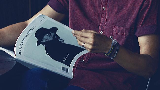 ファッションに興味のない男性が読むことはないファッション雑誌