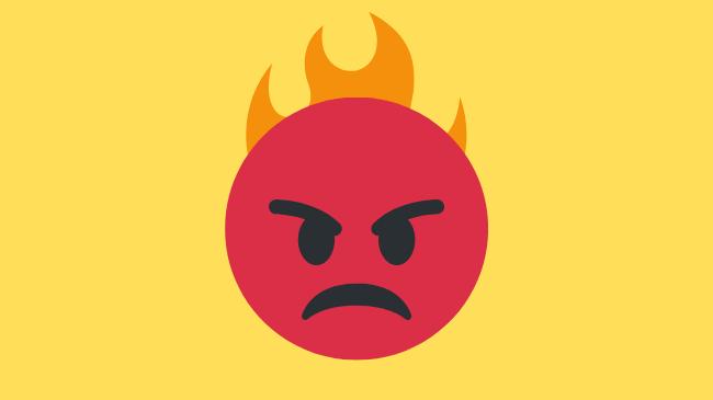 仕事で本気にならない周囲の人に怒り感じている状態