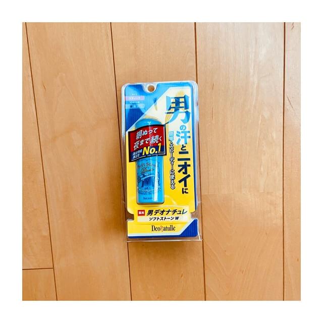 デオナチュレ男ソフトストーンのパッケージ