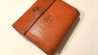 イルビゾンテの財布(品番:411465)のオレンジ