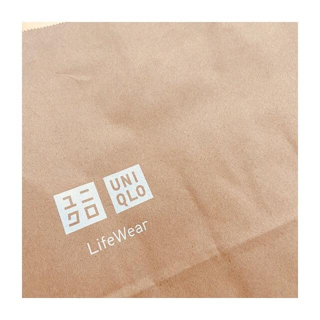 ストレッチセルビッジスリムフィットジーンズを購入した際の紙袋