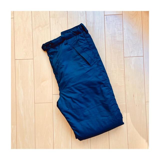ワークマンのフィールドコアの防風防寒パンツ