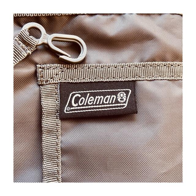 コールマンのリュックのキッズ向けウォーカー15の内側のロゴ