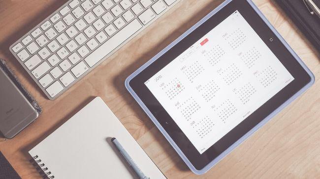 キンドルアンリミテッドの終了日が記載されたカレンダー