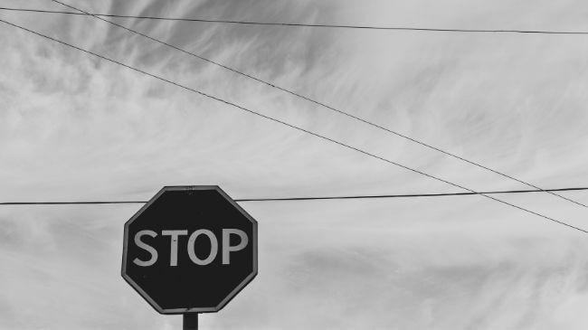 キンドルアンリミテッドを解約するためのストップの標識イメージ