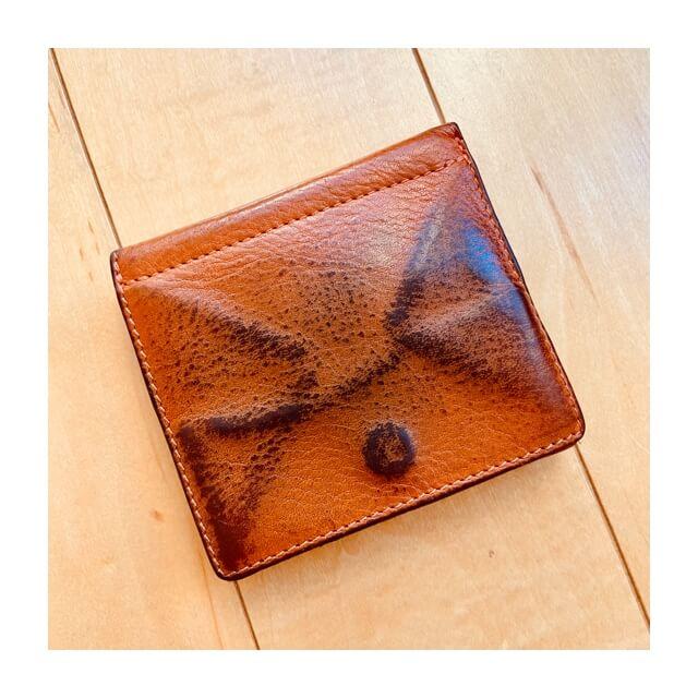 イルビゾンテの財布の裏側