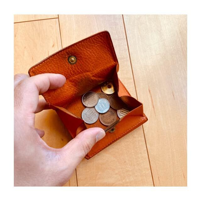 イルビゾンテの財布の小銭ケース部分