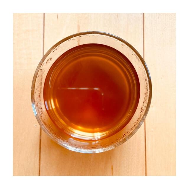 AGFのほうじ茶を上から撮影