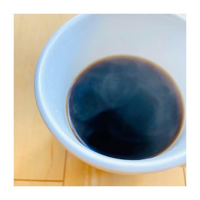 カフェオールドリッパーで抽出して入れたコーヒー
