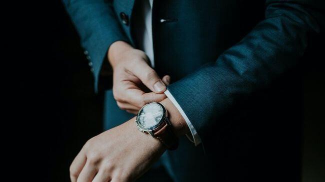 通勤で身につけている時計