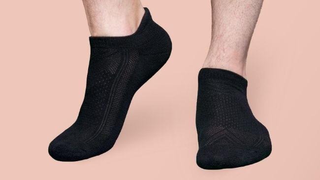 メンズ向けの冷え性対策の靴下(ショートバージョン)