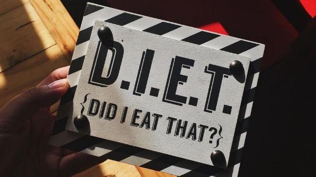 30代男性が痩せるために宣言したダイエットボード