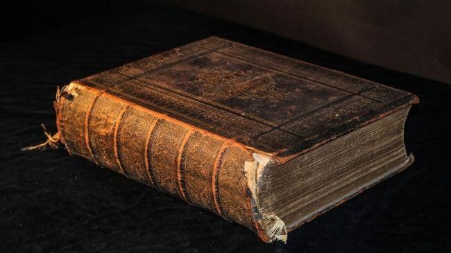 いかにも古典っぽい年季の入った書籍