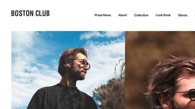 ボストンクラブの公式サイト